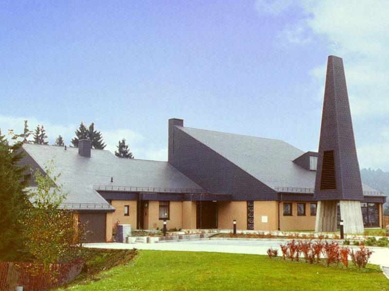 1978: Kirche in Altenau