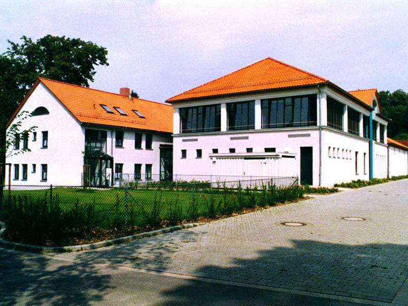 1992: Feuerwehrzentrum in Osterode