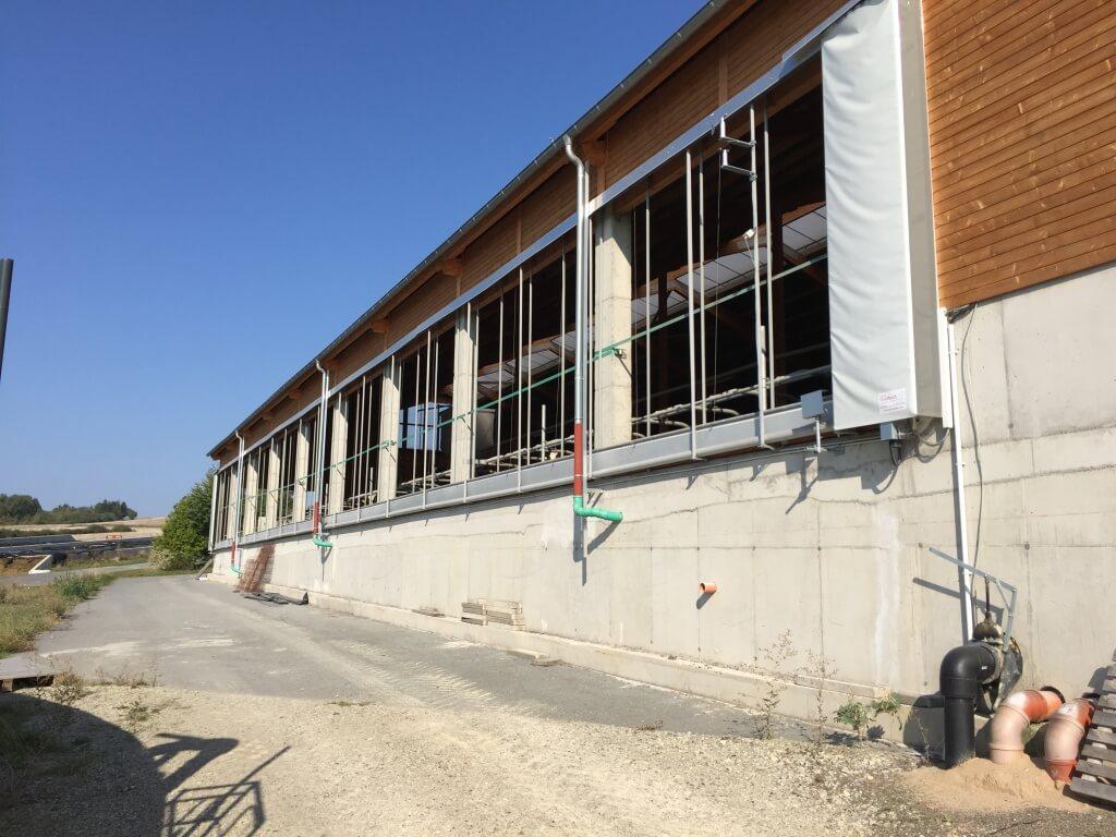 Vergrößerung einer Milchviehstall-Anlage und Neubau eines Fahrsilos
