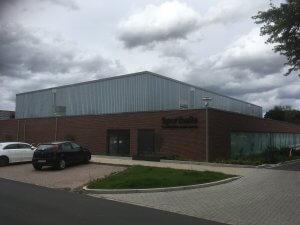 Neubau einer Dreifeldsporthalle