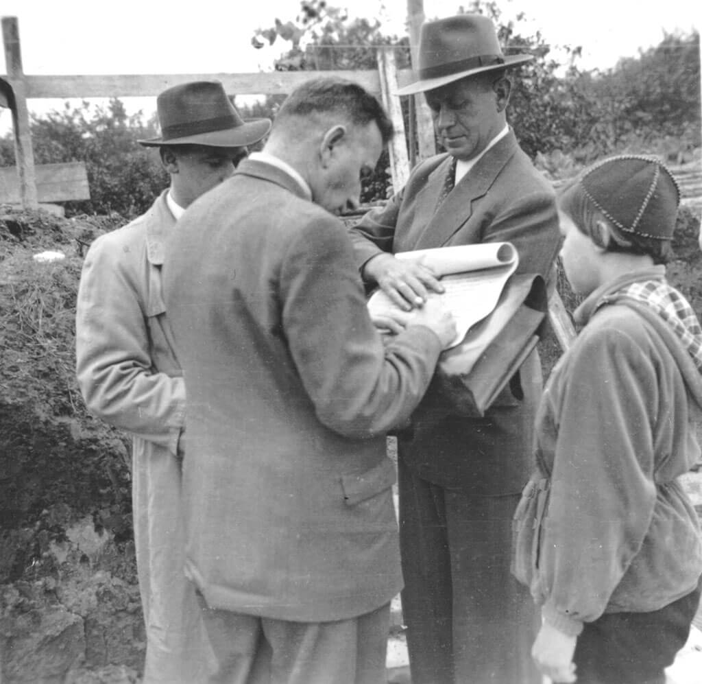1957: Firmengründer Otto Busch