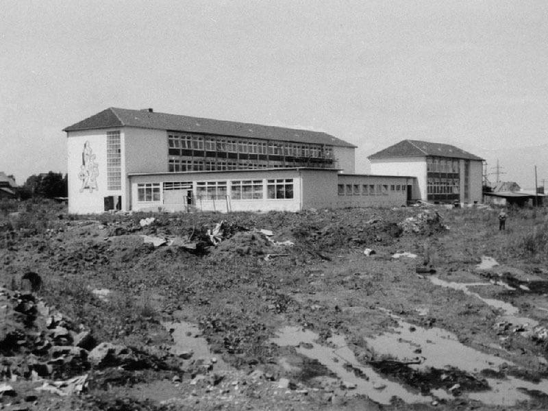 1964: Berufsschule in Duderstadt