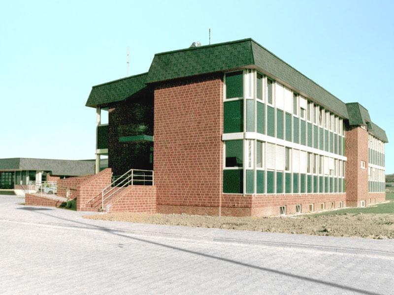 1981: Verwaltungsgebäude in Goslar