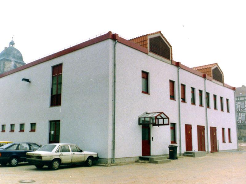 1986: Vermittlungsstelle der Post in Göttingen