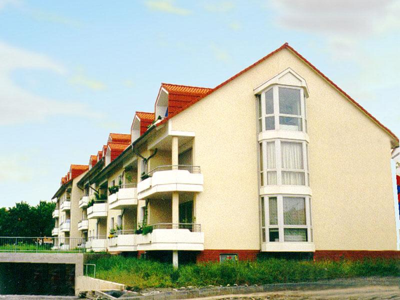 1993: Wohnhaus mit 25 Wohneinheiten in Göttingen