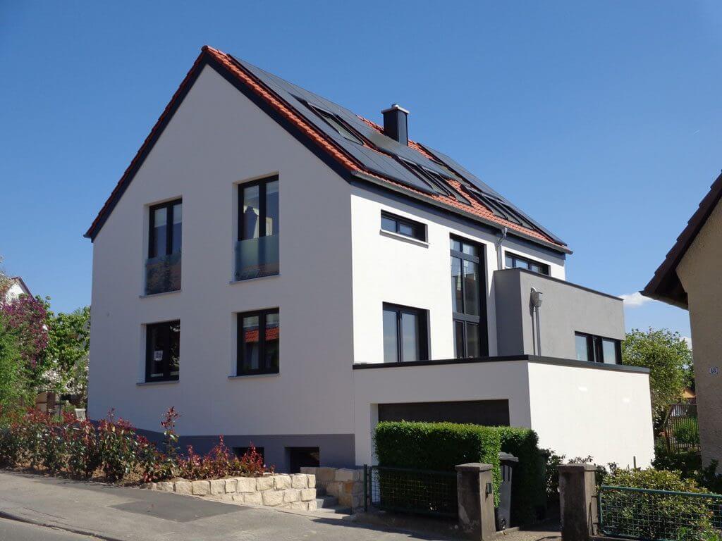 Nachhaltiges Bauen mit KfW-70-Haus in Göttingen