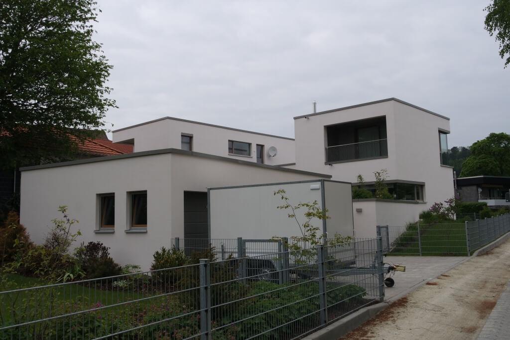 Moderne Stadtvilla mit Flachdach in Hardegsen