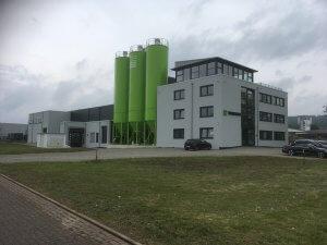 Neubau einer Produktionshalle mit Büroräumen